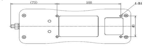 DS2系列外置传感器推拉力计结构尺寸图3
