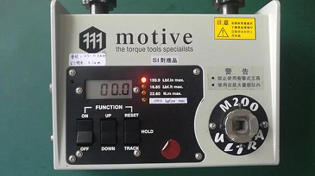 2005年购买的M2-200扭力测试仪