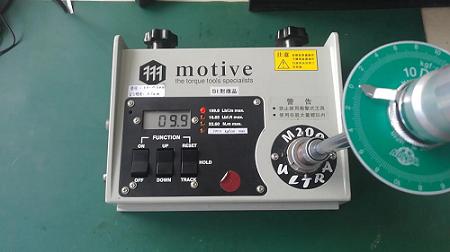 M2-200扭力测试仪校验测试图1