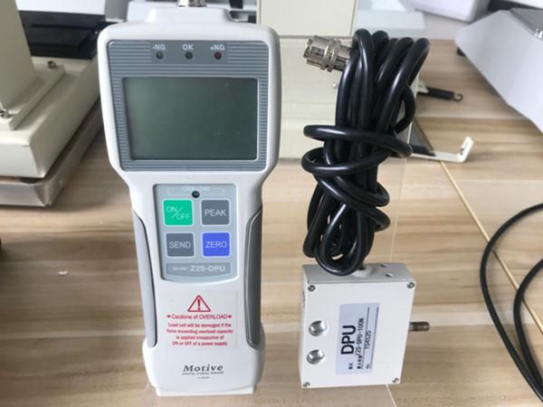 华通仪器采购10KN大量程数显推拉力计测试线材拉力破断