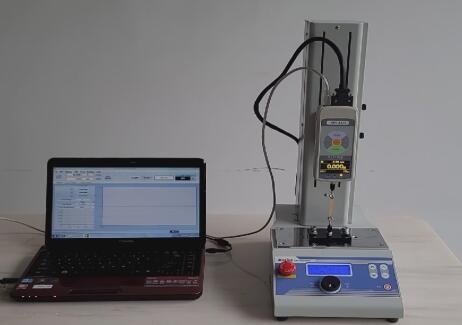 重庆客户采购MOTIVE品牌的MTF系列推拉力计进行微小力的测量
